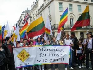 2008 London Pride Kartu su Anglijos lietuviais