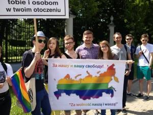 2013 Protestas prie Rusijos ambasados Lenkijoje