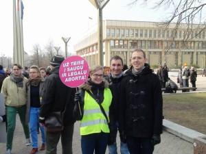 2014 Akcija už teisę į saugų abortą