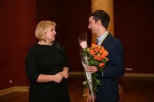 2015 Su Vilniaus kolegijos dekane